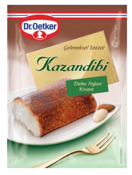 Turkish Kazandibi - Caramelized Rolled Pudding 165 g