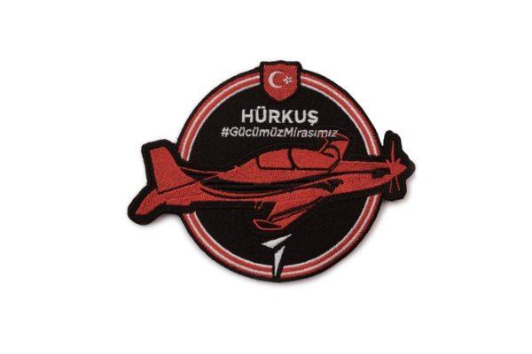 TAI Hurkus Turkish Basic Trainer and Ground Attack Aircraft Military Patch