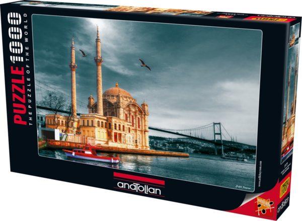 Ortakoy Mosque Nostalgie Jigsaw Puzzle