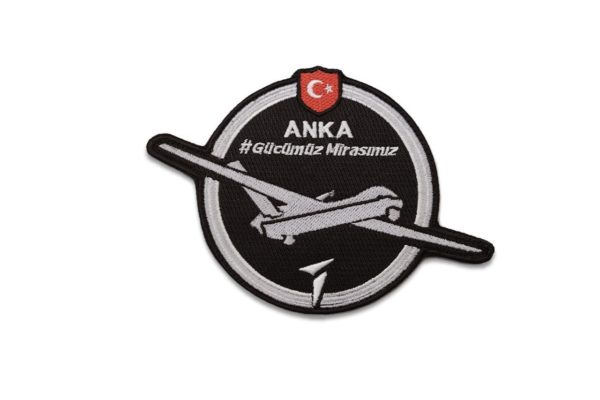 TAI ANKA Turkish Unmanned Aerial Vehicle Military Patch