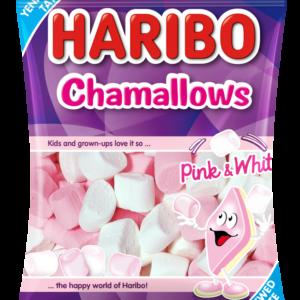 Haribo Chamallows Pink & White Halal Jelly Candy 160 g