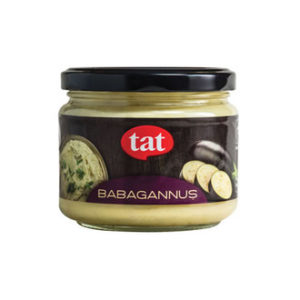 Turkish Appetizer Babagannuş Roasted Eggplant and Tahini 300g